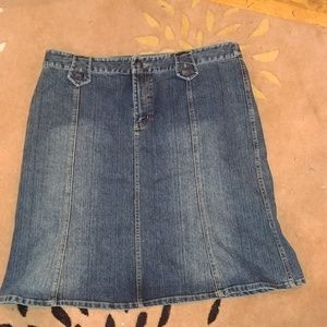 Mossimo Jean Skirt. Size 16